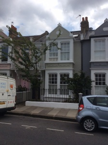 Terraced house in Fulham.