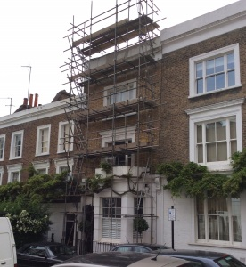 Listed property in Notting Hill. Before.