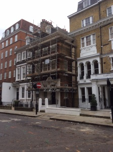 This is a pre-Jacobean property that we have fully decorated on the front and rear elevations. The property is in Kensington and is one of the oldest properties in London dating back to the 14th century.