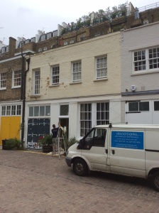 Mews property in Kensington. Before