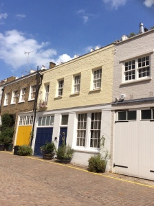 Mews property in Kensington. After